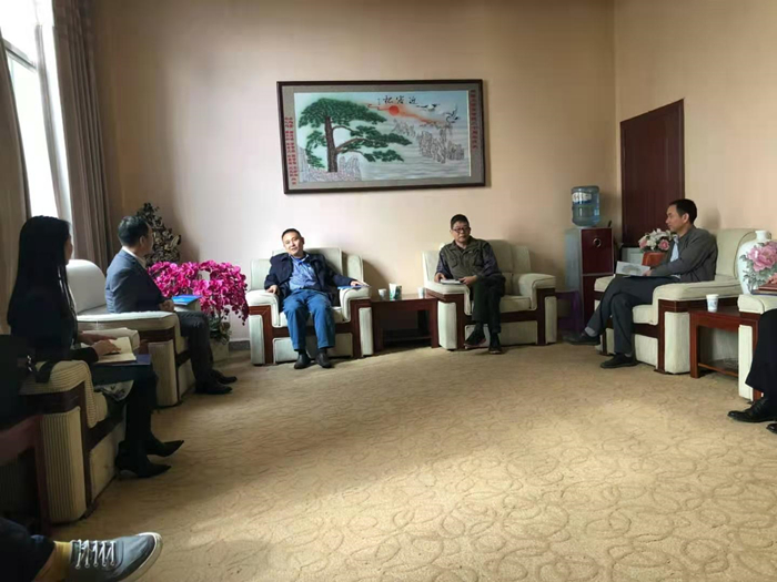前往湘潭大学中非经贸法律研究院拜访中国非洲法学科带头人洪永红老师